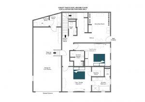 Chalet Face à Face - Ground floor Floorplan