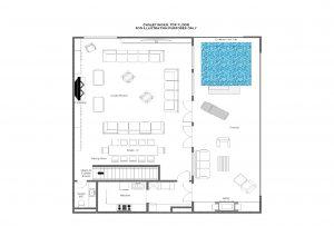 Chalet Inoko - Top floor Floorplan