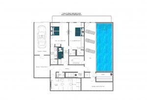 Chalet Inoko - Ground floor  Floorplan