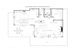 Chalet Les Etrennes - Top floor Floorplan