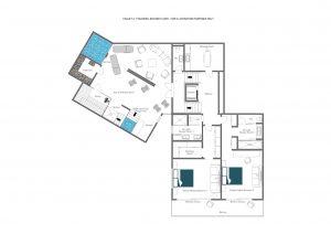 Chalet Mckinley - Second floor  Floorplan
