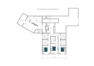 Chalet Mckinley - First floor Floorplan