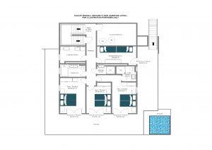 Chalet Mowgli - Ground floor  Floorplan