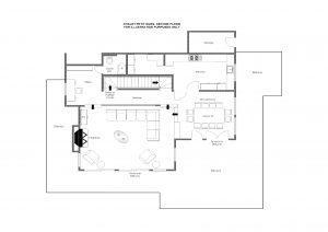 Chalet Petit Ours - Second floor Floorplan