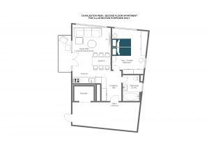 Charleston Peak - Second floor Floorplan
