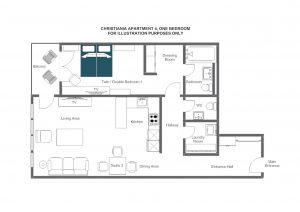 Christiania Apartment 4 - First floor Floorplan