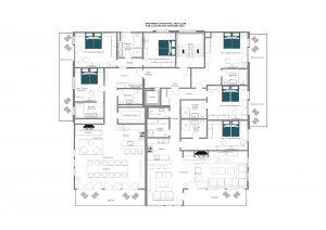Christiania Apartment 7 - 2nd floor  Floorplan
