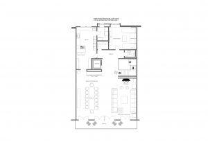 Christiania Penthouse - Top floor Floorplan