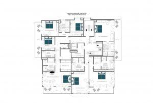Christiania Penthouse - Third floor (first half) Floorplan
