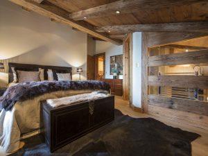 Bedroom in Chalet Corniche