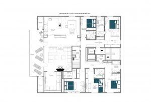 Crux Penthouse - Top floor  Floorplan