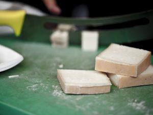 blocks of Swiss cheese