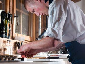 Gerwin Brand preparing food