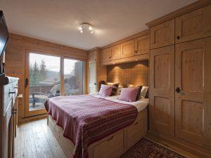 Master bedroom in Val Fleuri