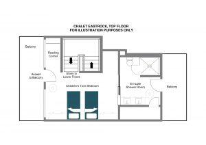 EastRock - Top floor Floorplan