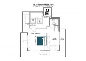 EastRock - Second floor Floorplan