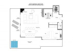 EastRock - First floor Floorplan