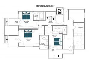 EastRock - Ground floor Floorplan