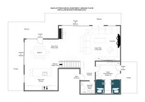 Haus Leytron - Ground floor Floorplan