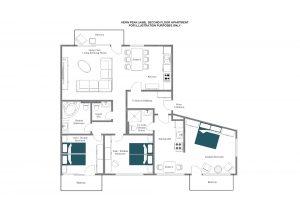 Kern Peak - Second floor Floorplan