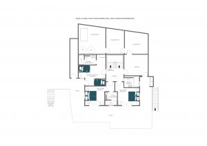 La Vigne - Sleeping floor (1st floor)  Floorplan