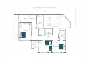 Le Ti - Ground floor  Floorplan