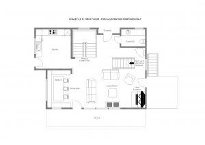 Le Ti - First floor  Floorplan