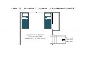 Le Ti - Mezzanine level  Floorplan