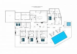 Mont Tremblant - Ground floor Floorplan