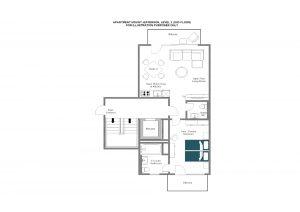 Mount Jefferson - Second floor Floorplan