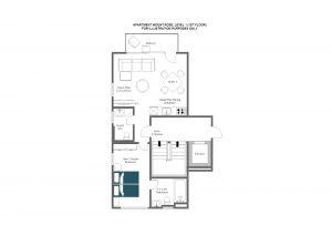 Mount Rose - First floor Floorplan