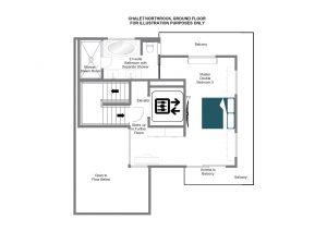 NewRock - Top floor Floorplan