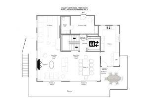 NewRock - First floor Floorplan