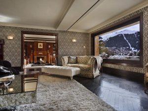 Chalet Truffe Blanche Living Room