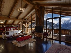 Stunning Views from Chalet Truffe Blanche