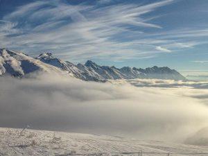Snow storm in St Anton