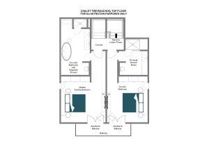 Tire Bouchon - Top floor Floorplan