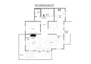 Tire Bouchon - First floor Floorplan
