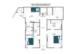 Tire Bouchon - Ground floor Floorplan