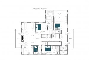 Tschoder - Top floor (1st floor) Floorplan