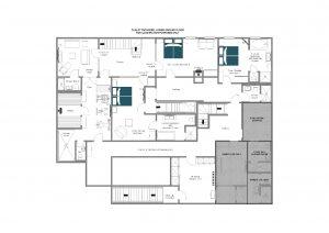 Tschoder - Lower ground floor  Floorplan