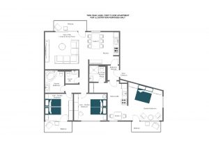 Twin peak - First floor Floorplan