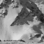 Steep mountainside