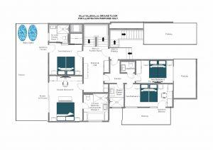 Villa Villekulla - Ground floor Floorplan