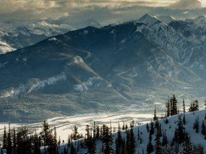 valley through the mountains
